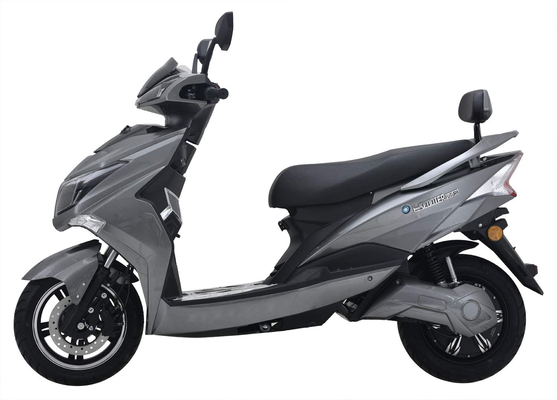 E-Roller Angry Hawk grau/ schwarz