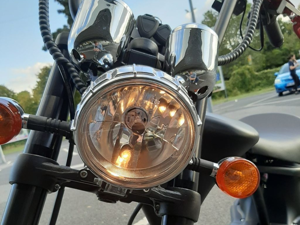 E Roller Mango Harley Style Chopper